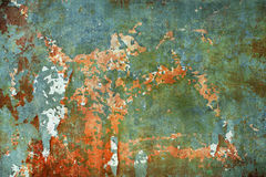 Abstract the old grunge wall Stock Photography