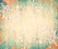 Abstract the old grunge wall. For background vector illustration
