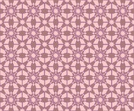 Abstract old pink flowered pattern Royalty Free Stock Image