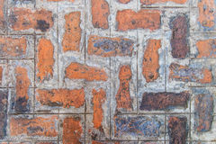 Abstract old red brick wall background Royalty Free Stock Image