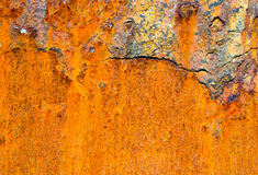 Abstract old rusty cracked metal background Stock Photo