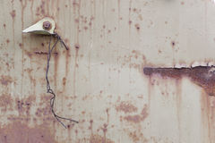 Abstract Old Rusty Metal Surface Background Royalty Free Stock Photo