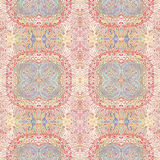 Abstract old shabby ethnic pastel  pattern Stock Photography