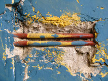 Abstract old wall vintage. Photo of colorful abstract old wall vintage Stock Photography