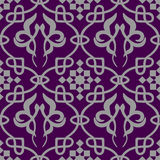 Abstract old wallpaper, seamless pattern in color Royalty Free Stock Photo