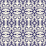 Abstract old wallpaper, seamless pattern in color Royalty Free Stock Photos