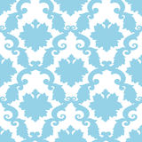 Abstract old wallpaper, seamless pattern in color Stock Image
