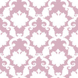 Abstract old wallpaper, seamless pattern in color Stock Images