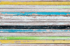 Abstract old wood texture background colorful Royalty Free Stock Images