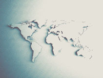Abstract old world map Royalty Free Stock Images