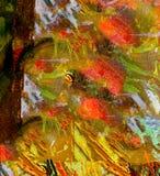 Abstract olieverfschilderij Royalty-vrije Stock Foto