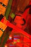 Abstract olieverfschilderij Royalty-vrije Stock Fotografie