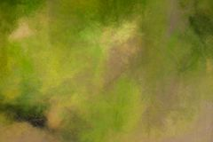 Abstract Olive Green Oil Background. An abstract olive green oil painting background royalty free illustration