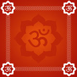 Abstract Om Background Royalty Free Stock Photo