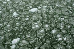 Abstract, onbezonnen ijs Stock Afbeelding