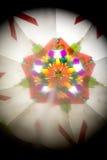 Abstract Onderzoekend Geometrische Vormen Caleidoscoop Als achtergrond Stock Fotografie