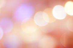 Abstract onduidelijk beeld bokeh, Feestelijke, uitstekende achtergrond, malplaatje Stock Afbeelding