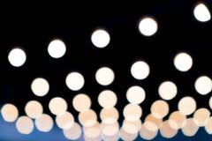 Abstract onduidelijk beeld bokeh licht Royalty-vrije Stock Afbeeldingen