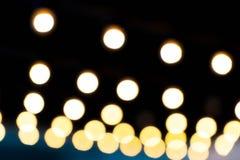 Abstract onduidelijk beeld bokeh licht Stock Foto