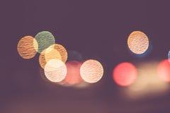 Abstract onduidelijk beeld bokeh licht als achtergrond Stock Foto's
