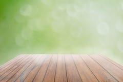 Abstract onduidelijk beeld met bokhe van licht door de bomenstemming van eenzaam Stock Foto