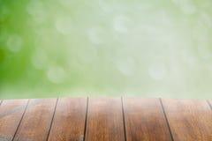 Abstract onduidelijk beeld met bokhe van licht door de bomenstemming van eenzaam Royalty-vrije Stock Fotografie