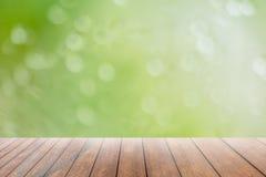 Abstract onduidelijk beeld met bokhe van licht door de bomenstemming van eenzaam Royalty-vrije Stock Foto