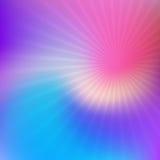 Abstract onduidelijk beeld met starburst Stock Foto