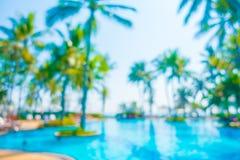 Abstract onduidelijk beeld openlucht zwembad Stock Foto's