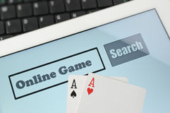 Abstract online game Stock Photos