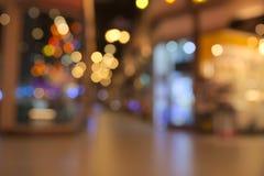 Abstract onscherp donker binnenplein Stock Foto's