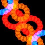 Abstract onscherp lichtenpatroon Stock Afbeelding