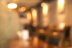 Abstract onscherp restaurant Royalty-vrije Stock Afbeelding