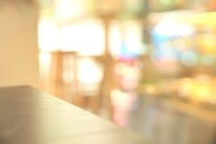 Abstract onscherp restaurant Royalty-vrije Stock Foto