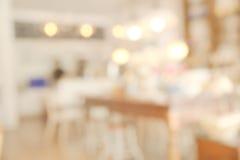 Abstract onscherp restaurant Stock Foto