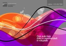 Abstract ontwerp als achtergrond Vector Illustratie