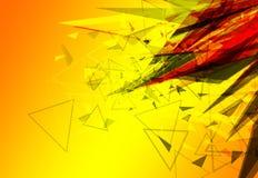 Abstract ontwerp als achtergrond royalty-vrije illustratie