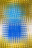 Abstract Ontwerp Berijpt Glas Geometrisch Patroon stock illustratie