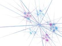 Abstract ontwerp dat van fractal texturen wordt gemaakt Royalty-vrije Stock Fotografie