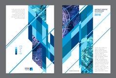 Abstract ontwerp grafisch malplaatje Stock Foto