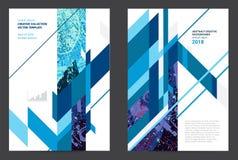 Abstract ontwerp grafisch malplaatje Stock Afbeeldingen