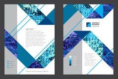 Abstract ontwerp grafisch malplaatje Royalty-vrije Stock Foto