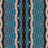 abstract ontwerp met glasblokken in witte en blauwe kleuren, achtergrond en textuur stock illustratie