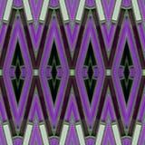 abstract ontwerp met glasblokken in witte, purpere en zwarte kleuren, achtergrond en textuur vector illustratie