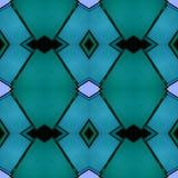 abstract ontwerp met ondoorzichtig glas in blauwe, zwarte en groene kleuren, achtergrond en textuur royalty-vrije illustratie