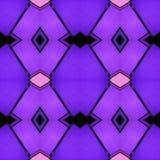 abstract ontwerp met ondoorzichtig glas in purpere, zwarte en roze kleuren, achtergrond en textuur vector illustratie