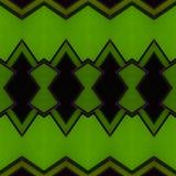 abstract ontwerp met ondoorzichtig glas in zwarte en groene kleuren, achtergrond en textuur vector illustratie