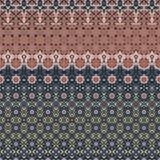 Abstract Ontwerp met Roze en Blauw Stock Foto's