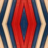 abstract ontwerp met stukken plasticinebars in blauw, wit en rode kleuren, achtergrond en textuur Royalty-vrije Stock Afbeeldingen