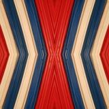 abstract ontwerp met stukken plasticinebars in blauw, wit en rode kleuren, achtergrond en textuur Royalty-vrije Stock Fotografie
